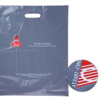 ПВД серый, шелкография, 2+0