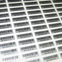 Пленка самоклеющаяся серебро матовое, цифровая печать, матовая ламинация