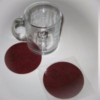 Тампопечать 1+0 (2 удара), категория товара - 3.  Для кружки дополнительно изготовлена подставка из фетра с лазерной гравировкой логотипа