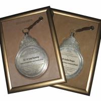 Персонализация памятных медалей с помощью лазерной гравировки
