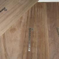 Проба тиснения фольгой на деревянном шпоне