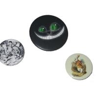Для производства использованы заготовки закатных магнитов диам. 56 мм и закатных значков диам. 38 мм