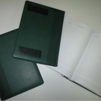 Ежедневник недатированный BRAND зеленый, цвет обложки темно-зеленый, страницы белые. Индивидуальной упаковки нет. На обороте оттеснены две плашки.  В наличии 50 шт. Цена реализации - 203 руб./шт.